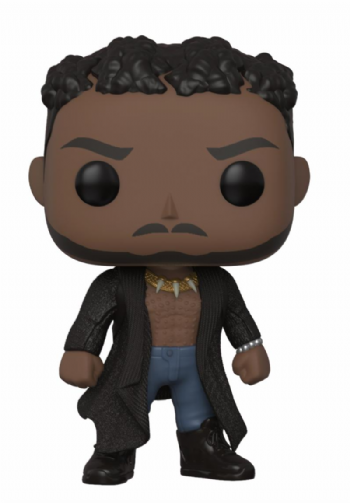 Pre-Order Funko Pop! Vinyl Black Panther Erik Kilmonger with Scars Figure